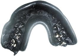 A Typical Boil And Bite Mouthguard